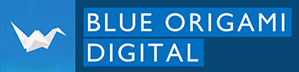 Logo Blue Origami Digital