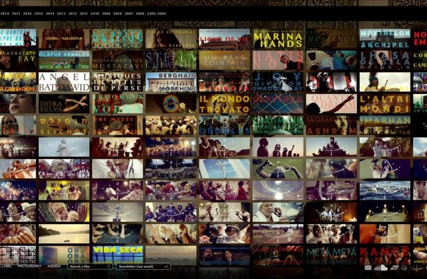 Nouveau client – Reprise en main et évolution d'un site de techno ancienne, VincentMoon, production de vidéos.