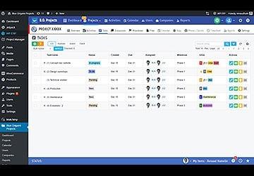 Blue Origami Project, plugin WP de gestion de projet